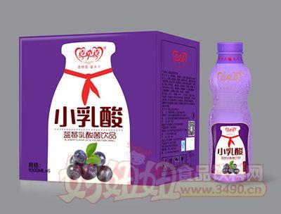 喜牵喜小乳酸蓝莓乳酸菌饮品1000mlx6