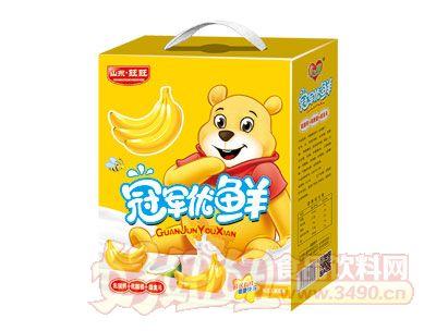 冠军优鲜乳酸菌香蕉味手提礼盒