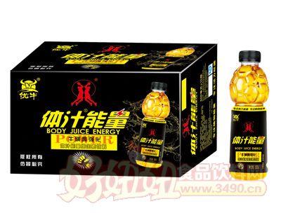 体汁能量维生素果味饮料600mlx5瓶