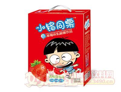 小铭同桌奶嘴瓶草莓味乳酸菌200mlx16瓶