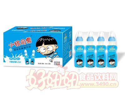 小铭同桌奶嘴瓶原味乳酸菌200mlx24瓶