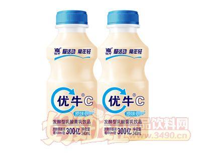 优牛C原味乳酸菌320ml