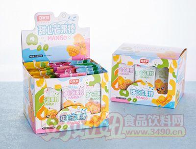 百家赞甜心芒果棒21克定量装盒装