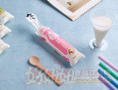 家家赞草莓味奶哈尼奶味饮品180ml