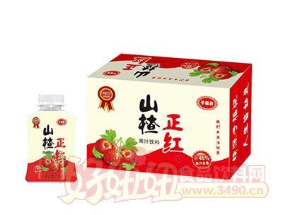 山楂正红果汁饮料300ml*15瓶