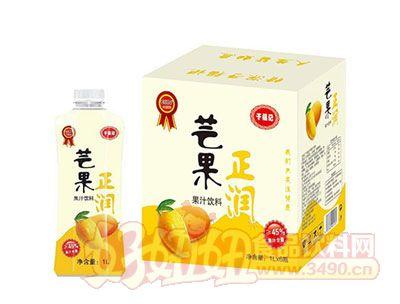 正润芒果果汁饮料1L*6瓶