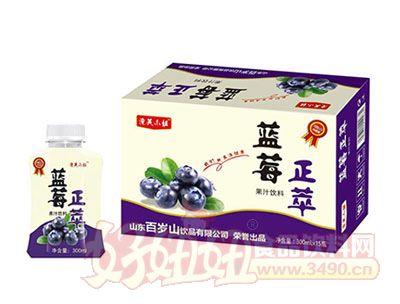 正萃蓝莓果汁饮料300ml*15瓶