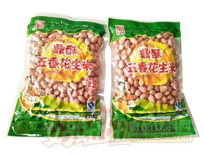 鼎酥五香花生米200克
