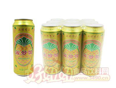 菠萝啤果味型碳酸饮料500ml
