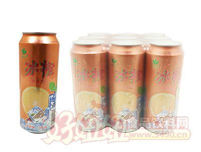 冰橙果味饮料490ml