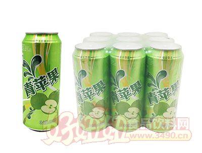 青苹果碳酸饮料300ml