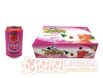 水蜜桃味碳酸饮料320ml*24罐