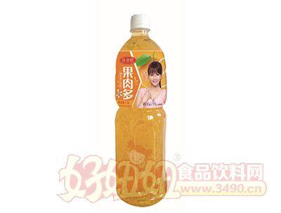 沃尔旺果肉多橙汁1.5L