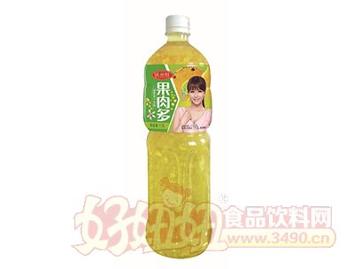沃尔旺果肉多菠萝汁1.5L