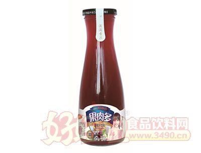 沃尔旺果肉多蓝莓汁500ml