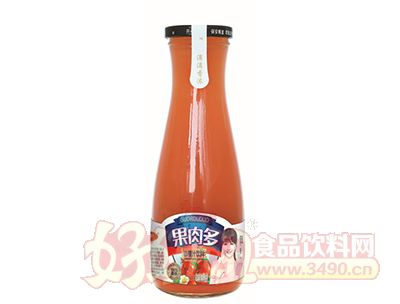 沃尔旺果肉多山楂汁500ml
