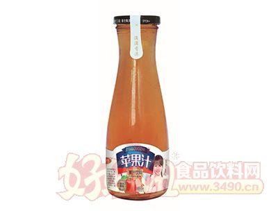 沃尔旺果肉多苹果汁饮料500ml