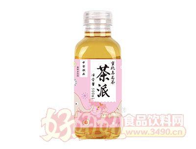 中资饮品茶派蜜桃乌龙茶果味茶饮料500ml