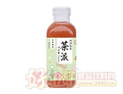 中资饮品茶派柠檬红茶果味茶饮料500ml