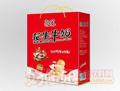 凯芙花生牛奶243mlx20盒