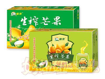 椰栗生榨芒果果汁饮料组合