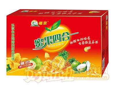 椰栗蜜果四合一复合果汁饮料箱装