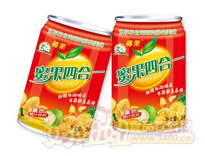 椰栗蜜果四合一复合果汁饮料245ml罐装