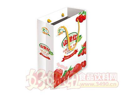 椰栗山里红复合果汁饮料手提袋