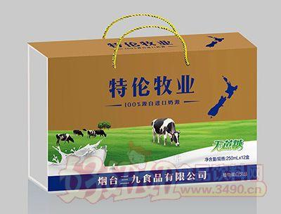 特伦牧业无蔗糖植物蛋白饮品250mlx12盒