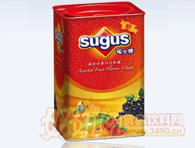 混合水果口味瑞士糖盒�b560g