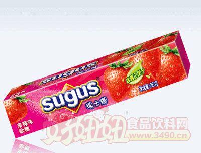 草莓味瑞士糖35g
