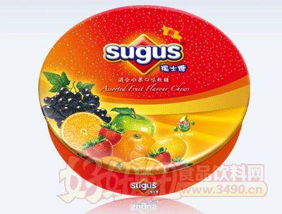 混合水果口味瑞士糖�A盒�b