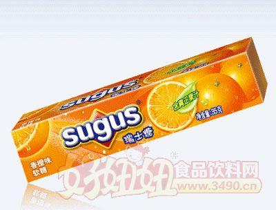 香橙味瑞士�糖35g