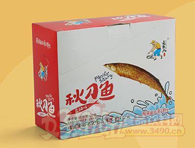 追鱼人秋刀鱼盒装15克/包*20包香辣味