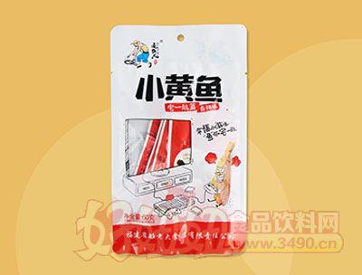 追鱼人小黄鱼香辣味60克(袋中袋)