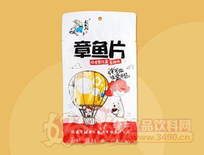 追鱼人章鱼片香辣味60克(袋中袋)