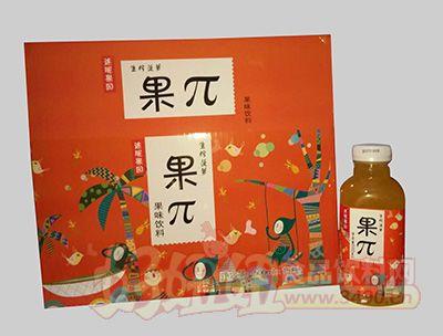 迷昵果园果π生榨山楂菠萝饮料500mlx15瓶