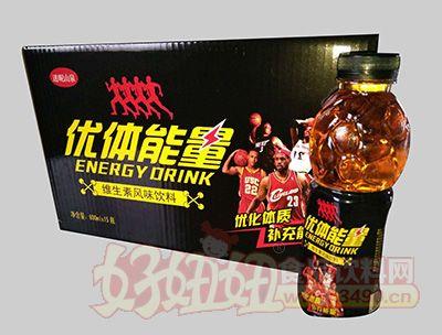 迷昵山泉优体能量维生素风味饮料600mlx15瓶