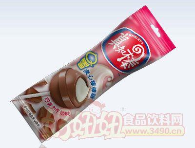 真知棒巧克力牛奶?#34892;?#26834;棒糖