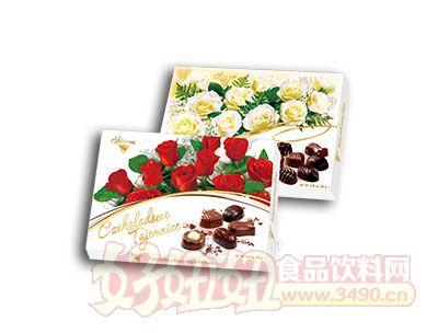 秘密花园果仁夹心巧克力礼盒