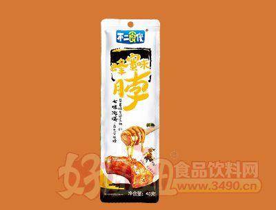 不二食代蜂蜜味烤脖45克