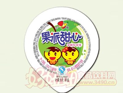三福果派甜心果味型果��