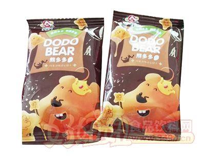 宇宙屋熊多多巧克力味注心饼干称重