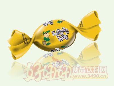 三福卡通水果糖(黄色)