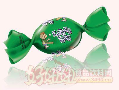 三福卡通水果糖(�G色)