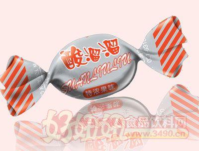 三福酸溜溜特浓果味糖(红色)