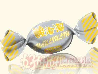三福酸溜溜特浓果味糖(黄色)