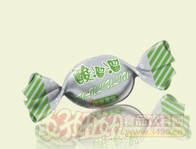 三福酸溜溜特�夤�味糖(�G色)
