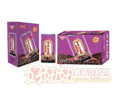 五谷�L黑米�t豆八��粥320g×12罐