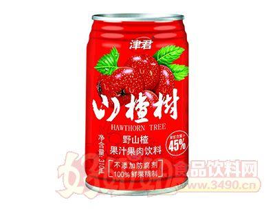 津君山楂树野山楂汁310ml